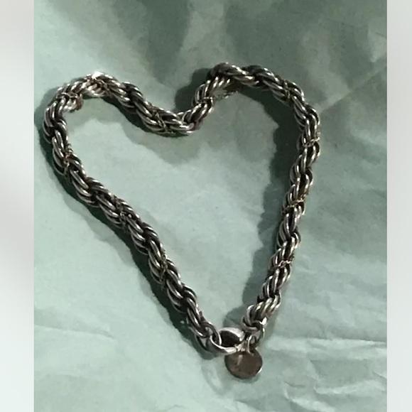 Tiffany & Co 18k Gold & silver Vintage Bracelet